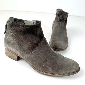 Paul Green (Uk7/US9.5) Gray Suede Ombré Boots